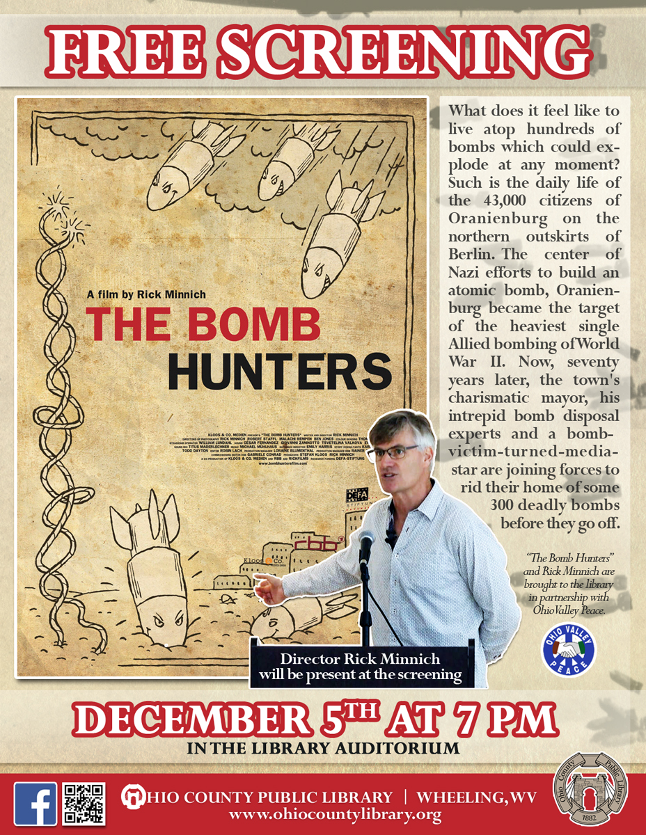 Special Screening of The Bomb Hinters with Rick Minnich