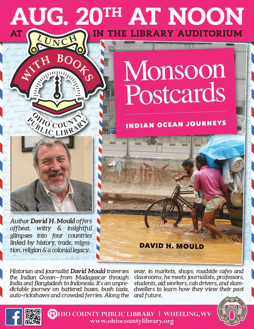 Lunch With Books: August 20 at noon - Monsoon Postcards