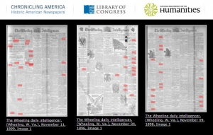 Newspapers on Chronicling America